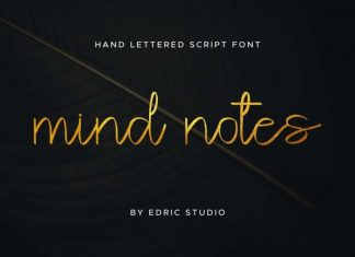 Mind Notes Handwritten Font