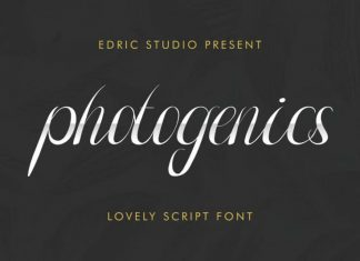 Photogenics Luxury Script Font