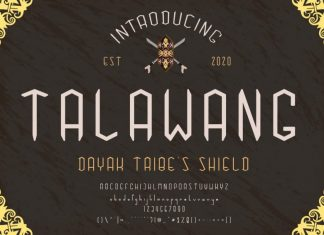 Talawang Display Font