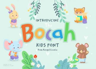 The Bocah Handwritten Font