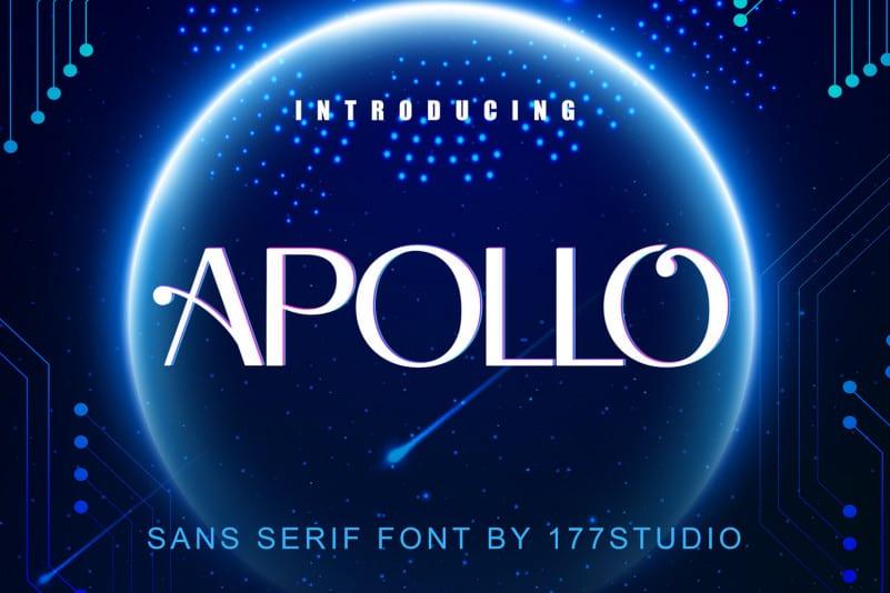 Apollo Sans Serif Font - Free Demo