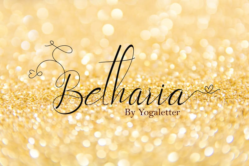 Betharia Calligraphy Font