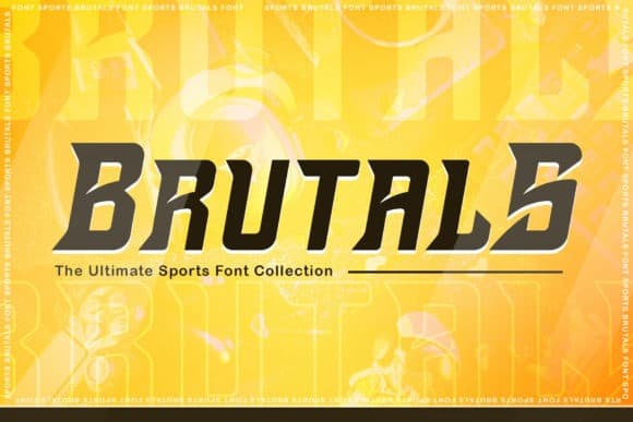 Brutals Display Font