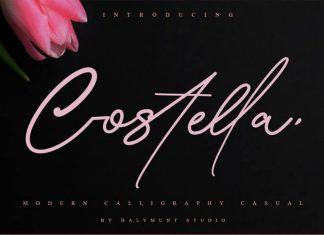 Costtella Handwritten Font