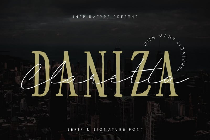 Daniza Claretta Handwritten Font