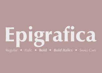Epigrafica Sans Serif Font
