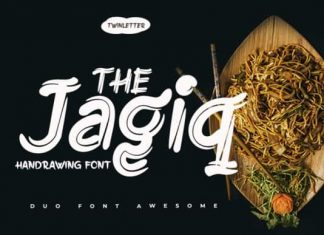 Jagiq Display Font