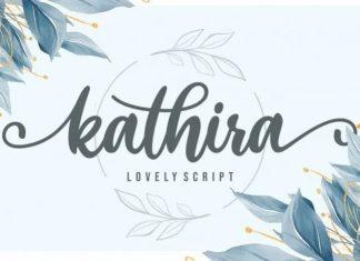 Kathira Script Font
