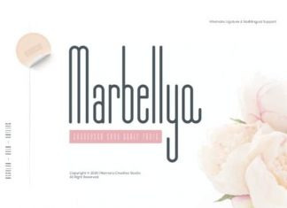 Marbellya Sans Serif Font