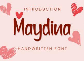 Maydina Handwritten Font