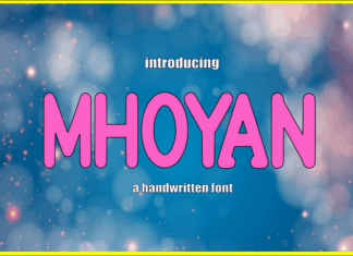 Mhoyan Display Font