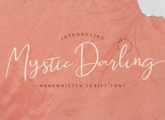 Mystic Darling Handwritten Font