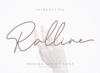 Ralline Handwritten Font