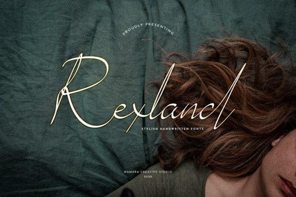 Rexland Handwritten Font