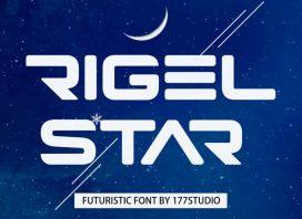 Rigel Star Futuristic Font