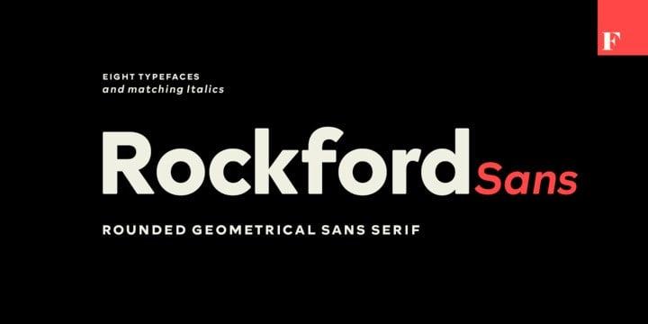 Rockford Sans Serif Font