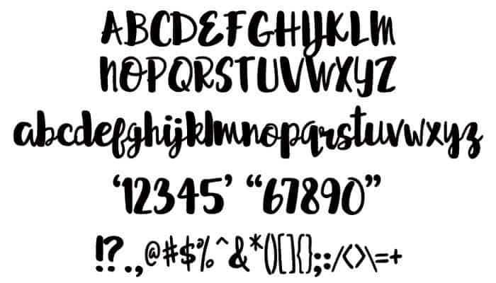 Sprightly Script Font