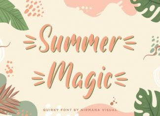 Summer Magic Script Font