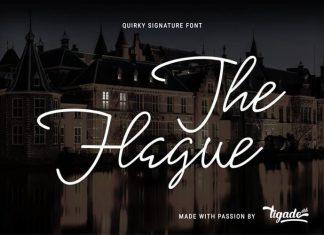 The Hague Handwritten Font
