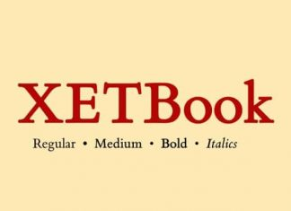 XETBook Serif Font