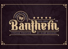 Banthern Display Font