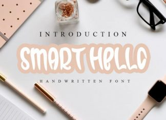 Smart Hello Brush Font