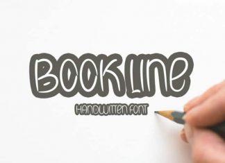 Book Line Script Font