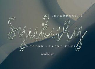 Sukury Script Font