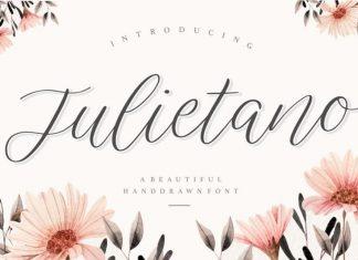 Julietano Handdraw Font