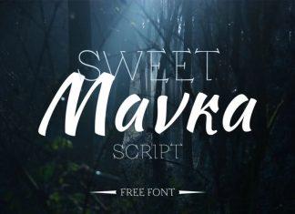 Sweet Mavka Script Font