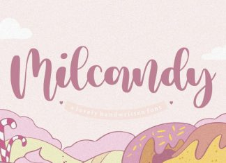Milcandy Lovely Handwritten Font
