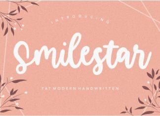 Smilestar Modern Handwritten Font