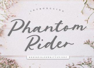 Phantom Rider Modern Handwritten Font