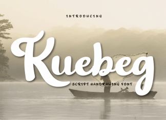 Kuebeg Script Font
