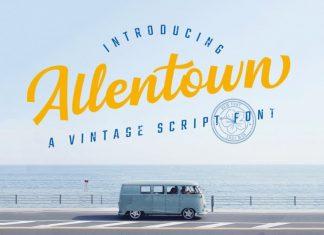Allentown Script Font