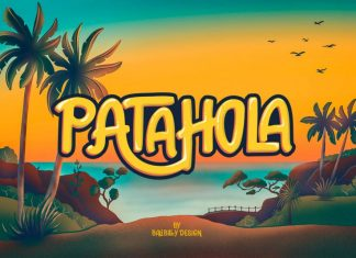 Patahola Playful Kids Font