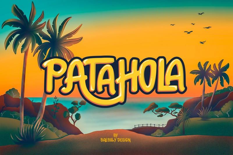 Patahola Playful Kids Font