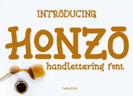 Honzo Display Font