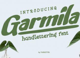 Garmila Script Font