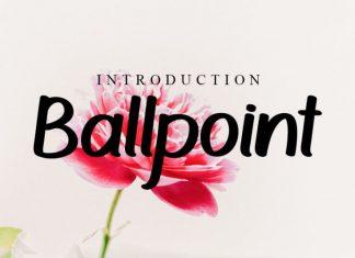 Ballpoint Script Font