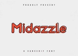 Midazzle Sans Serif Font