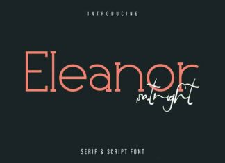 Eleanor Satnight Font Duo