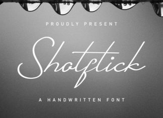 Shotflick Handwriting Font