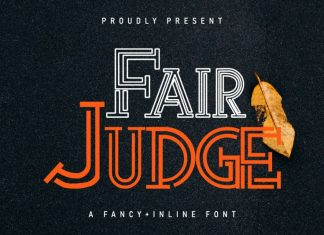 Fair Judge Display Font