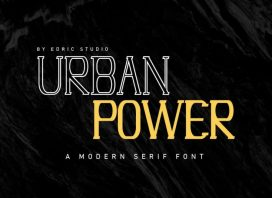 Urban Power Modern Serif Font