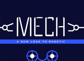 Mech Display Font