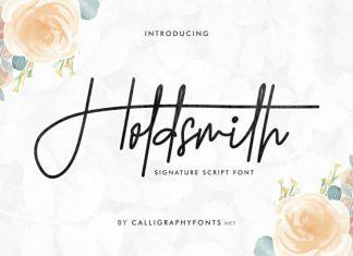 Holdsmith Handwritten Font