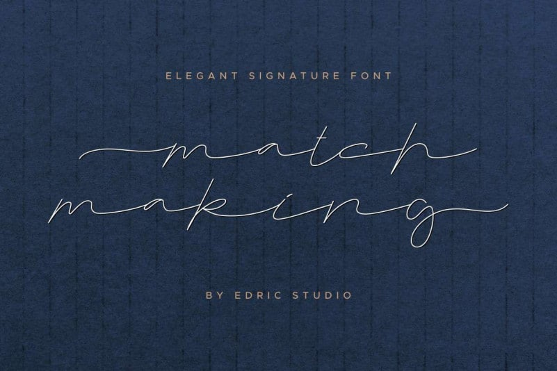 Matchmaking Handwriting Font