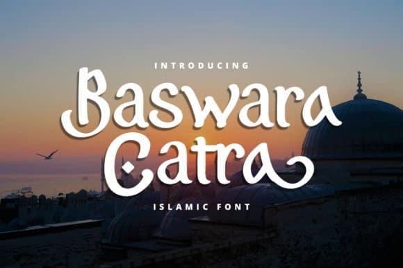 Baswara Catra Display Font