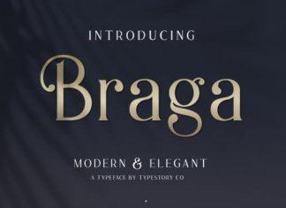 Braga Serif Font